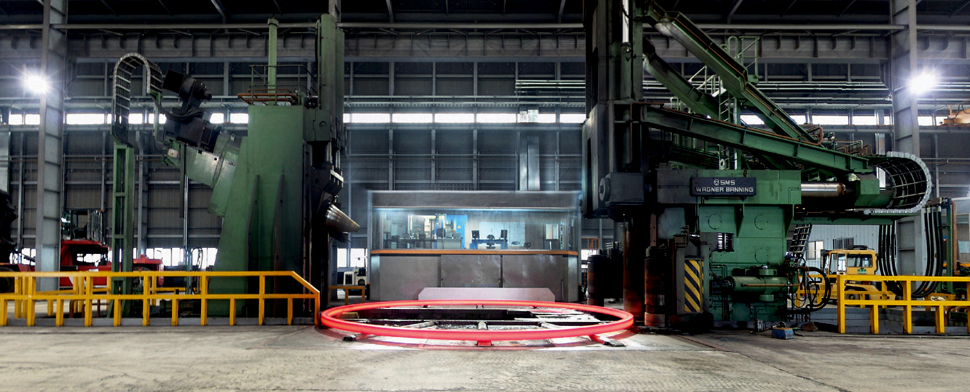 taewoong ホーム 設備 ring rolling mill