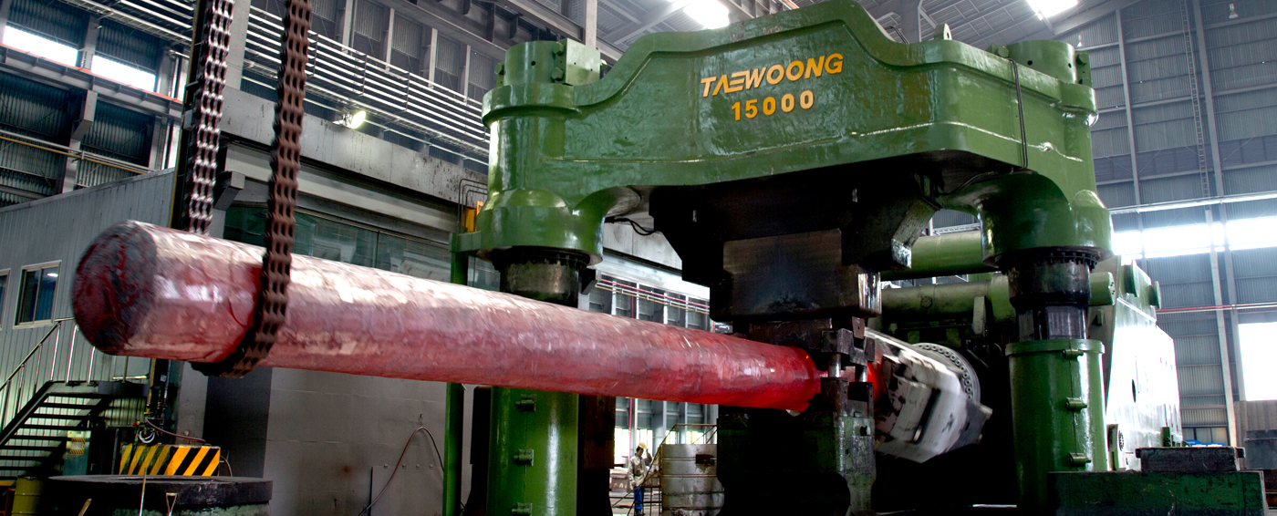 taewoong Home >FACILITIES>FORGING PRESS